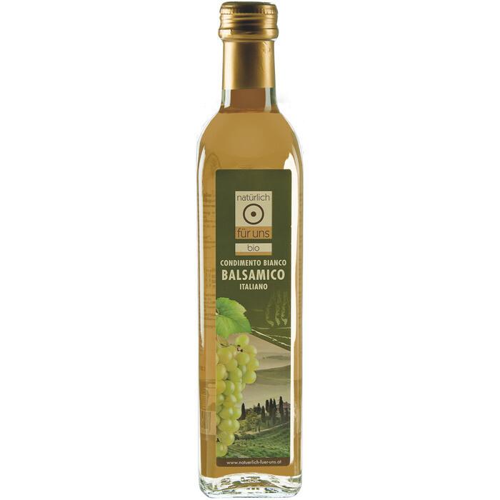Grosspackung natürlich für uns Bio Balsamico Condimento bianco 6 x 500 ml = 3 Liter