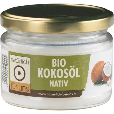 Grosspackung natürlich für uns Bio Kokosöl extra virgin 12 x 200 ml = 2.4 Liter