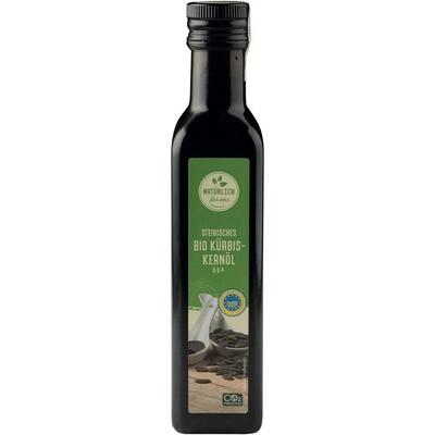 Grosspackung natürlich für uns Bio Kürbiskernöl g.g.A. 6 x 250 ml = 1.5 Liter