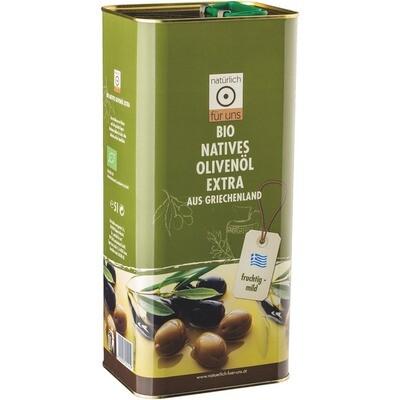 Grosspackung natürlich für uns Bio Olivenöl nativ extra 5 Liter