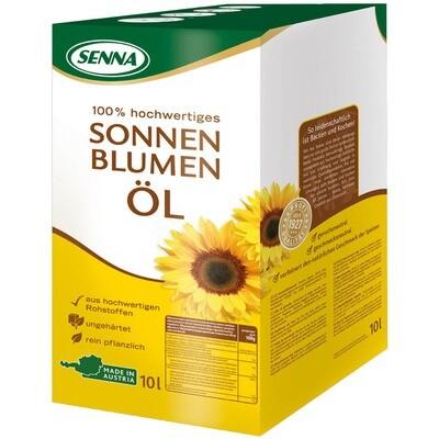 Grosspackung Senna Sonnenblumenöl Bag in Box 10 Liter