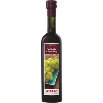 Grosspackung Wiberg Balsamico Weißwein Essig 3 x 500 ml = 1.5 Liter