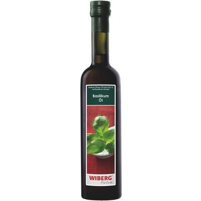 Grosspackung Wiberg Basilikum Öl 3 x 500 ml = 1.5 Liter