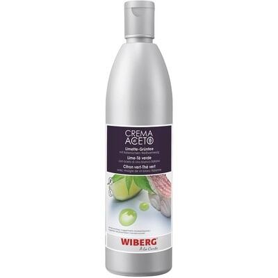 Grosspackung Wiberg Crema di Aceto Limette-Grüntee 3 x 500 ml = 1.5 Liter
