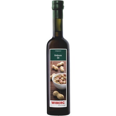 Grosspackung Wiberg Erdnuss Öl 3 x 500 ml = 1.5 Liter