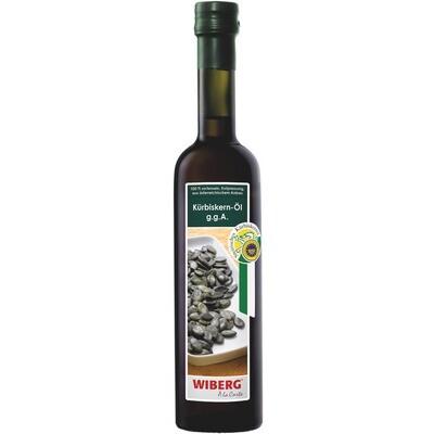 Grosspackung Wiberg Kürbiskernöl g.g.A 3 x 500 ml = 1.5 Liter