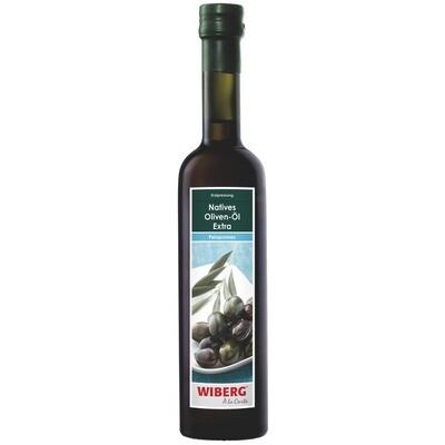 Grosspackung Wiberg Olivenöl nativ extra Peleponnes 3 x 500 ml = 1.5 Liter