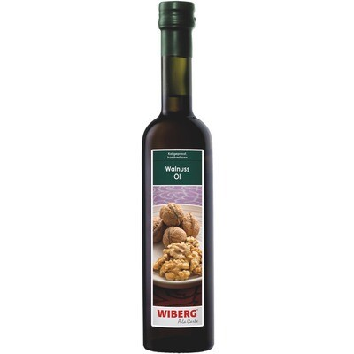 Grosspackung Wiberg Walnuss Öl 3 x 500 ml = 1.5 Liter