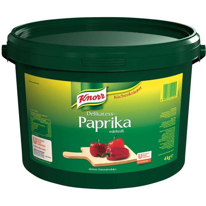 Grosspackung Knorr Delikatess-Paprika edelsüss 4 kg