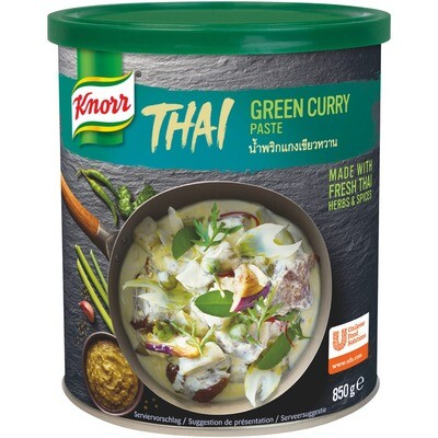 Grosspackung Knorr Thai Green Curry Paste 6 x 850 g = 5.1 kg