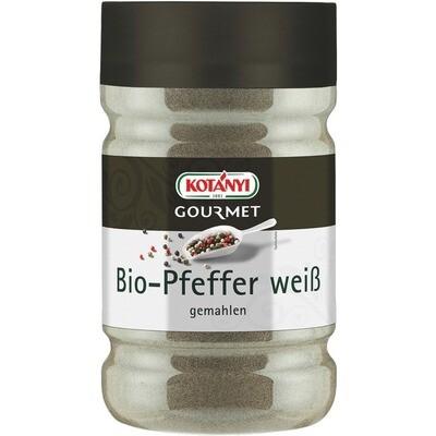 Grosspackung Kotanyi Bio Pfeffer weiß gemahlen 1200 ccm