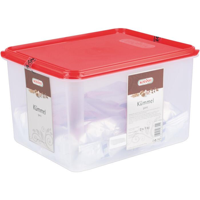 Grosspackung Kotanyi Kümmel ganz Gastrobehälter 2 x 1kg = 2 kg