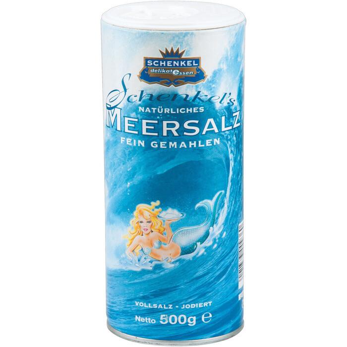Grosspackung Schenkel Meersalz fein 12 x 500 g = 6 kg