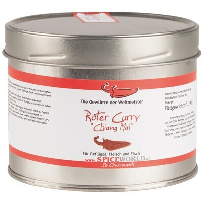 Spiceworld Roter Chiang Mai Curry 550 ml