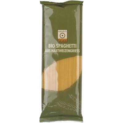 Grosspackung natürlich für uns Bio Grießteigware Spaghetti 10 x 500 g = 5 kg