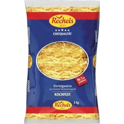 Grosspackung Recheis Bandnudeln 2 Ei 5 kg