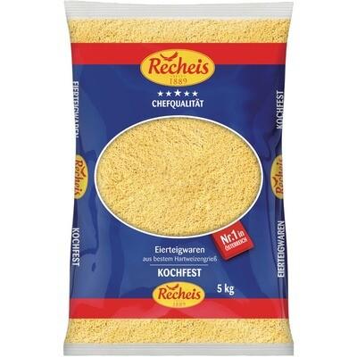 Grosspackung Recheis Buchstaben 2 Ei 5 kg Pasta Nudeln