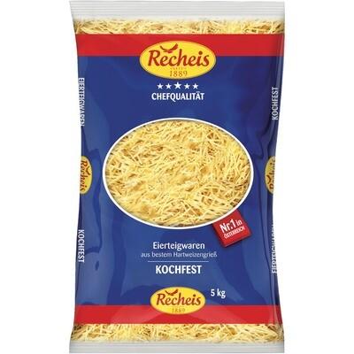 Grosspackung Recheis Hausmacher Nudeln 2 Ei 5 kg