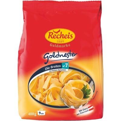 Grosspackung Recheis Goldnester Nudeln breit Nr. 7 12 x 400 g = 4,8 kg