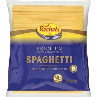 Grosspackung Recheis Premium Spaghetti kochfest 5 kg