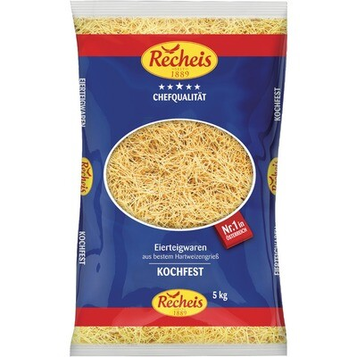 Grosspackung Recheis Suppennudeln 2 Ei 5 kg