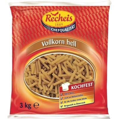 Grosspackung Recheis Vollkorn Makkaroni 3 kg