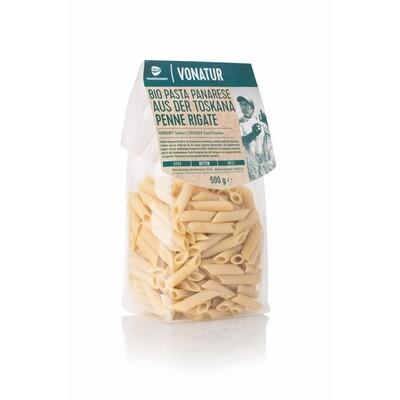 Grosspackung Vonatur Pasta Panarese Bio Penne Rigate 8 x 500 g = 4 kg