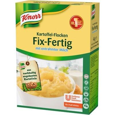 Grosspackung Knorr Kartoffel-Flocken Fix Fertig mit entrahmter Milch 4 kg