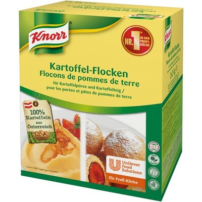 Grosspackung Knorr Kartoffel-Flocken für Püree und Teig 4 kg