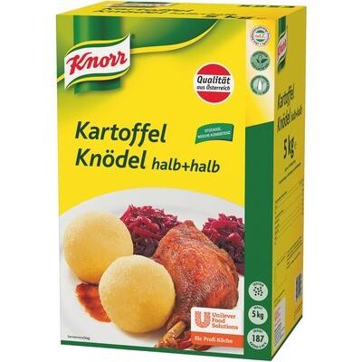 Grosspackung Knorr Kartoffel-Knödel halb+halb 5 kg