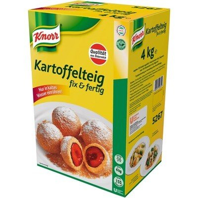 Grosspackung Knorr Kartoffelteig fix & fertig 4 kg
