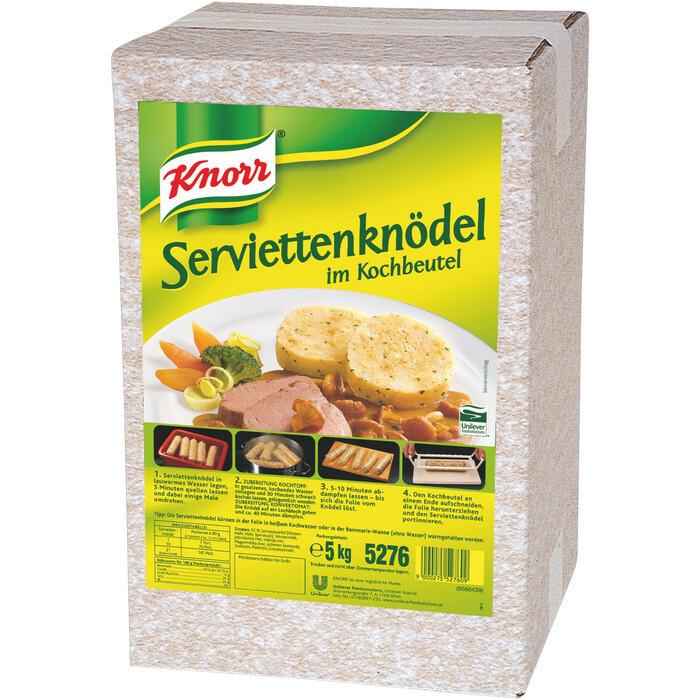 Grosspackung Knorr Serviettenknödel 5 kg