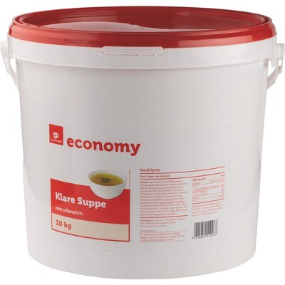 Grosspackung Economy klare Suppe 10 kg