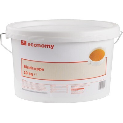 Grosspackung Economy Rindfleischsuppe 10 kg