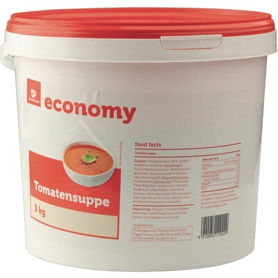 Grosspackung Economy Tomatencremesuppe 3 kg