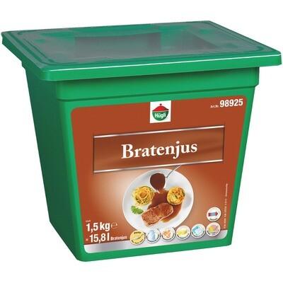 Grosspackung Hügli Bratenjus pastös 1,5 kg