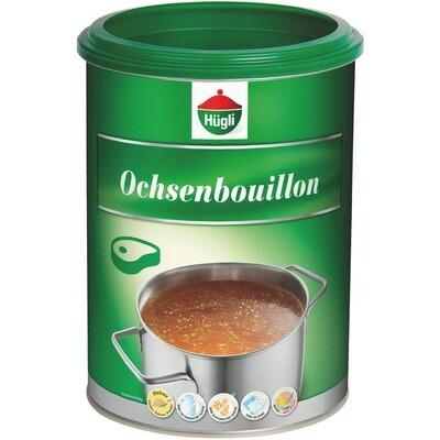 Grosspackung Hügli Ochsenbouillon Rindsuppe gekörnt 1 kg