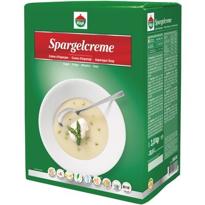 Grosspackung Hügli Spargelcremesuppe Classic 3 kg