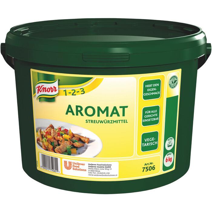 Grosspackung Knorr Aromat Streuwürze 6 kg
