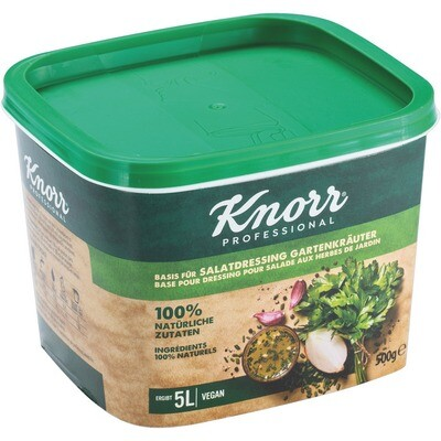 Knorr Basis für Salatdressing Gartenkräuter 500 g