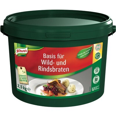 Grosspackung Knorr Basis für Wild- und Rindsbraten 2,5 kg
