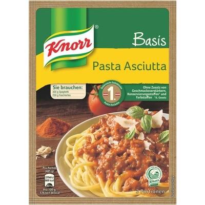 Grosspackung Knorr Basis Pasta Asciutta 22 x 70g = 1,54 kg