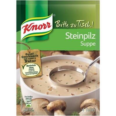 Grosspackung Knorr Bitte zu Tisch Steinpilz Suppe 20 x 82 g = 1,64 kg