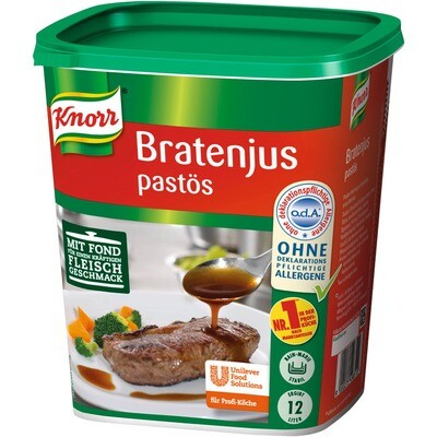 Grosspackung Knorr Bratenjus pastös 1,2 kg