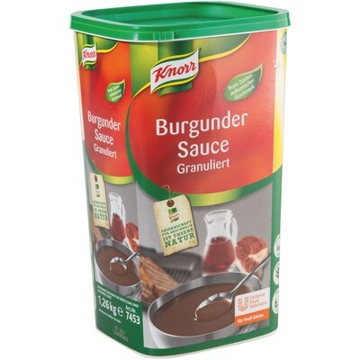 Grosspackung Knorr Burgunder Sauce 1,26 kg