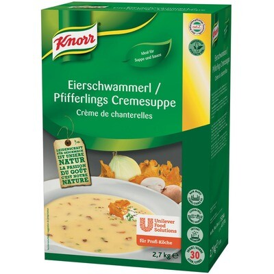 Grosspackung Knorr Eierschwammerl Cremesuppe 2,7 kg