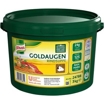 Grosspackung Knorr Goldaugen Rindsuppe 3 kg