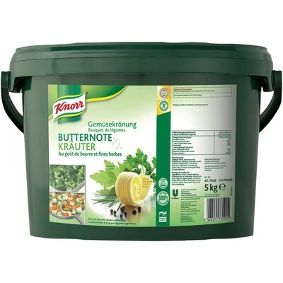 Grosspackung Knorr Gemüsekrönung Butternote & Kräuter 5 kg
