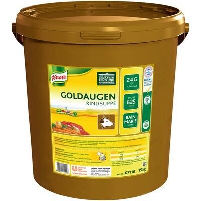 Grosspackung Knorr Goldaugen Rindsuppe 15 kg