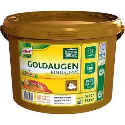 Grosspackung Knorr Goldaugen Rindsuppe 5 kg